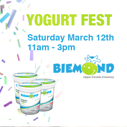 Join us for Yogurt Fest 2016!